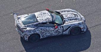 Chevrolet проводит тестирование экстремального Corvette ZR1