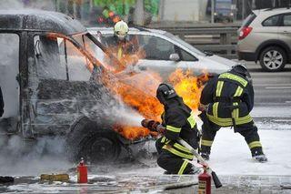 В Свердловской области взорвалась ГАЗель, есть жертвы