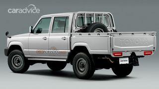 Toyota Land Cruiser 170 2025 года. Рендер: CarAdvice