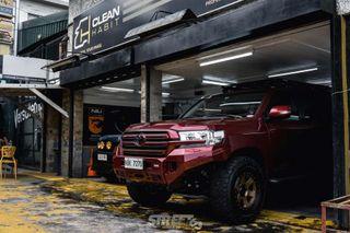 Тюнингованный Toyota Land Cruiser 200. Фото: Aloy