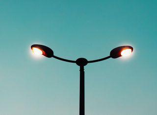 Фото: Освещение на улице