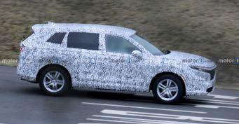 Honda CR-V 2023 впервые замечена на тестах