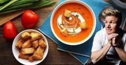 Холодный суп «Гаспачо» отГордона Рамзи