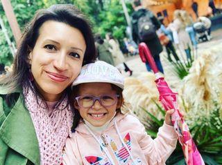 Елена Борщёва и дочь. Фото: личная страница VK