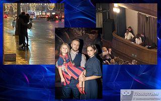 Фото изTelegram-канала «Светские Хроники», Клим Шипенко ссемьёй. Фотоколлаж Покатим.ру