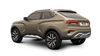 Рендер кросс-купе LADA 4×4 Vision, источник: Driver-News.ru