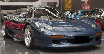 На торги выставлен уникальный спорткар Jaguar XJR-15 1991 года выпуска