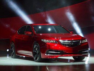 Премиальный седан Acura TLX появится в РФ в течении 2014 года