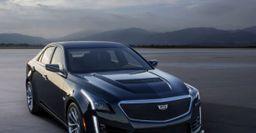 Компания Cadillac представит седан CTS-V в новом оформлении
