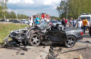 Три человека погибли в ДТП на подъезде к Смоленску