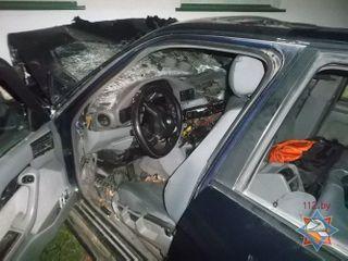 В Столине водитель BMW въехал в здание и погиб