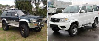 Toyota Hilux Surf против Нового УАЗ Патриот