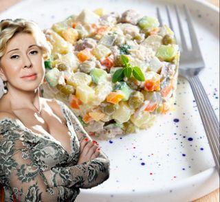 Оливье отЛюбы Успенской \Источник: foodmood.ru