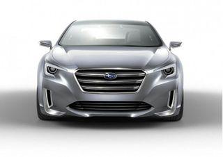 В сети появилось официальное изображение Subaru Outback 2015