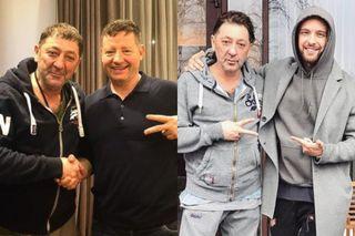 Григорий Лепс сЕвгением Добровольским (слева) иЕгором Кридом (справа). Коллаж: www.instagram.com
