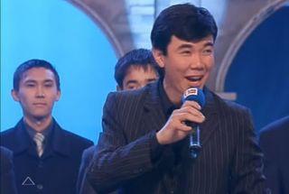 Нурлан Каянбаев в КВН / Фото: Первый канал