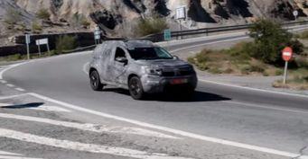 Обновлённый Renault Duster «засветился» на шпионском видео