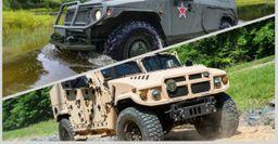 Эксперты сравнили Российский бронеавтомобиль «Тигр» с Американским Hummer