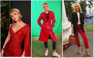 Валерия выбирает красный. Коллаж Pokatim.ru