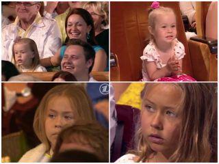 Чем взрослее становилась девочка, тем меньше улыбок можно было поймать в кадр. Источник изображений: YouTube-канал Иринка как Картинка