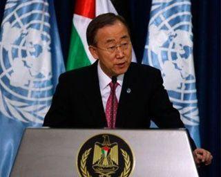 Генсек ООН получил в Кении в подарок львицу