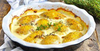 Запекаю картошкунесосметаной, аскефиром— Делюсь рецептом
