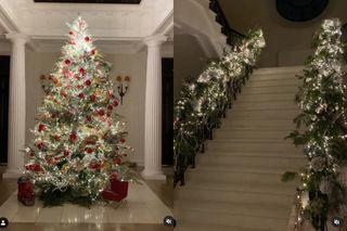Перминова шикарно украсила не только ёлку, но и домФото: instagram.com/lenaperminova