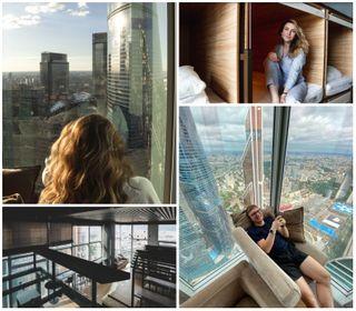 Комфортное жильё с невероятным видом на Москва-сити. Источник: @anya.cadabra
