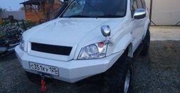 Автомобилист показал тюнингованный TLC Prado 120 с алюминиевым бампером