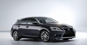 Компания Lexus представила обновленный CT 200h