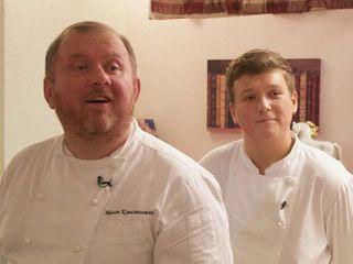 Вдетстве Матвей хотел пойти постопам отца истать поваром Фото: Youtube