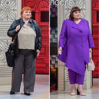 Ноги героини стали короче из-за длинного жакета. Источник - www.modniy.tv