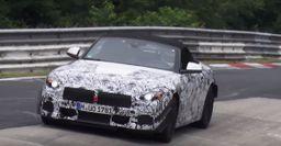 Новый спортивный родстер BMW Z5 тестируют на Нюрбургринге