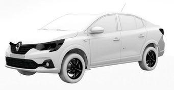 Renault готовит новый седан а-ля Logan