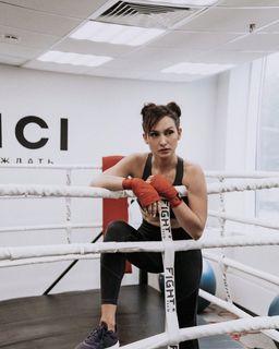 Жена Вани Абрамова бокс фото