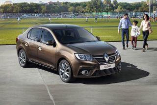 Фото: Renault Logan, источник: Renault
