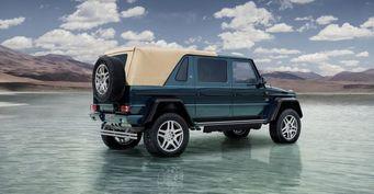 Объявлены рублевые цены на внедорожник Mercedes-Benz Maybach