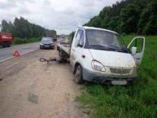 В Нижегородской области под колеса мини-грузовика попал велосипедист