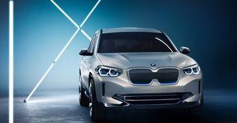 BMW официально представил концепт электрокроссовера iX3