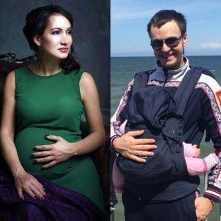 Иван Абрамов и его жена фото