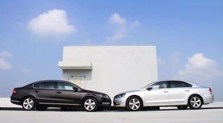 Первые фото нового Volkswagen Passat без камуфляжа