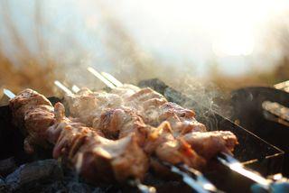 Фото: шашлык на мангале, источник: pixabay.com