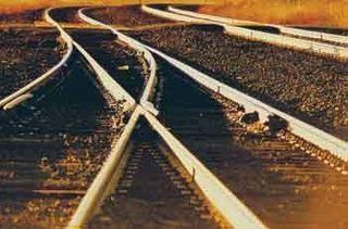 Вновь взорваны пути на железной дороге в Донецке
