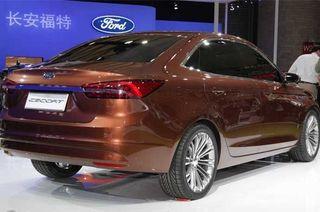 Ford представит свой Escort на автосалоне в Пекине
