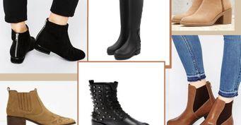 Каблуки ишпильки долой. 4 стильные пары обуви наосень
