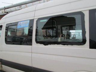 В Виннице уже два дня обстреливают муниципальные маршрутки