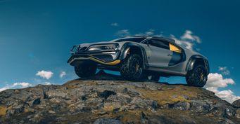 Bugatti Terra Cross: Частный дизайнер показал гиперкар для офф-роуда