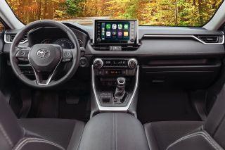 Фото: Салон Toyota RAV4, источник: Toyota