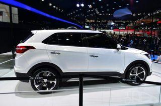 В интернете появились фотографии бюджетного «Hyundai ix25»