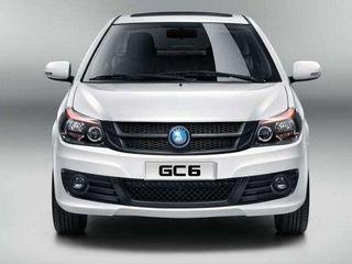 Опубликована цена нового седана Geely GC6 в Украине